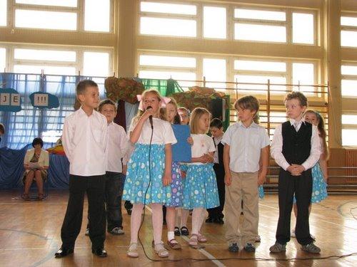 Fotografie z artykułu: Uroczyste zakończenie roku szkolnego 2008/2009