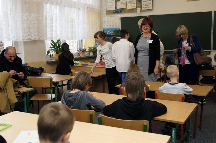 Fotografie z artykułu: Happy C(l)ubowicze podczas Dnia Otwartego Szkoły
