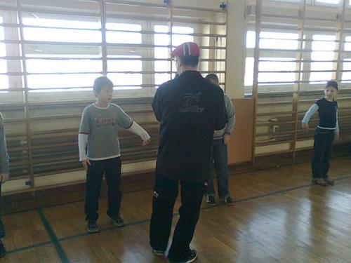 Fotografie z artykułu: Break dance show...