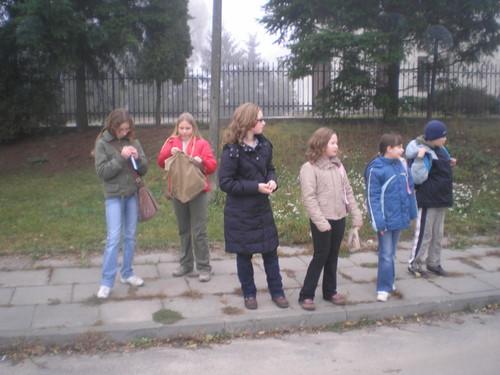 Fotografie z artykułu: XVII Rajd Niepodległości 'Szlakami Legionistów Płockich'...