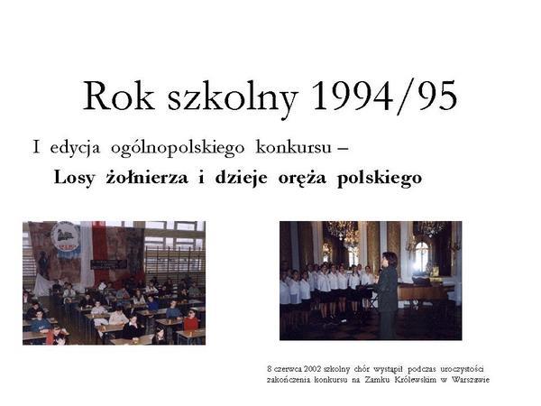 Fotografie z artykułu: Nasza historia
