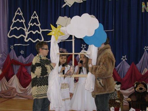 Fotografie z artykułu: Uczniowie naszej szkoły laureatami konkursu kolęd 2009...