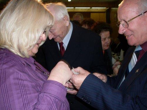 Fotografie z artykułu: Wigilia Kombatantów 2010...