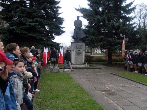 Fotografie z artykułu: 89 rocznica odznaczenia Płocka Krzyżem Walecznych...