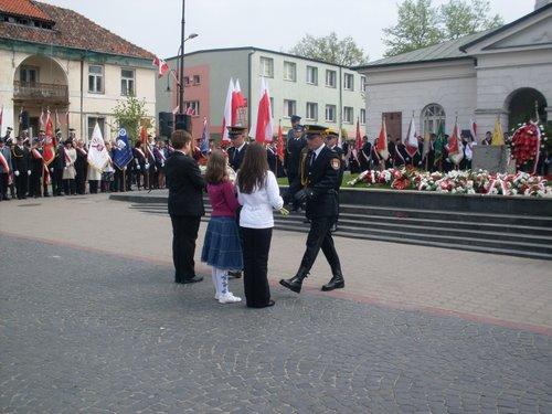 Fotografie z artykułu: Obchody 3 Maja...