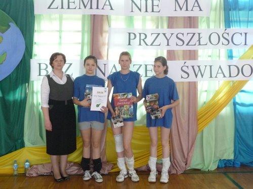 Fotografie z artykułu: VIII Powiatowy Międzyszkolny Konkurs Ekologiczny