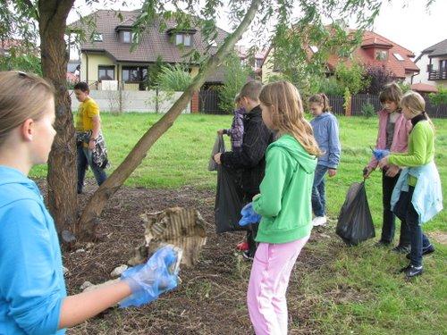 Fotografie z artykułu: Sprzątanie Świata 2010