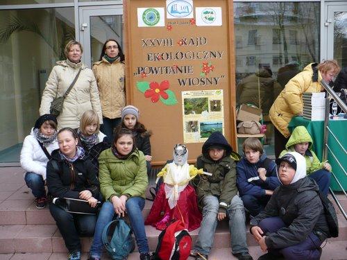 Fotografie z artykułu: XXVIII Rajd Ekologiczny 'Powitanie Wiosny'
