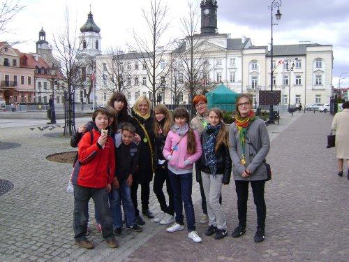 Fotografie z artykułu: Gra miejska - 'Płock - Miasto Bohater'