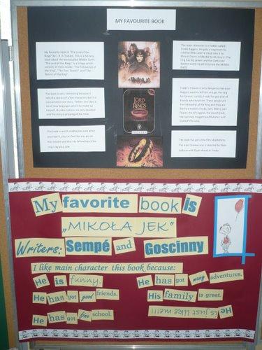 """Fotografie z artykułu: """" My favourite book"""" – """"Moja ulubiona książka"""""""