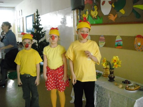 Fotografie z artykułu: Wielkanocnie w klasach młodszych