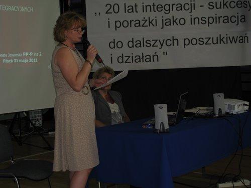 Fotografie z artykułu: '20 lat integracji - sukcesy i porażki jako inspiracja do dalszych poszukiwań i działań' konferencja naukowo - szkoleniowa