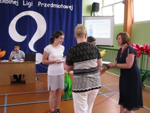 Fotografie z artykułu: Podsumowanie XVII edycji Międzyszkolnej Ligi Przedmiotowej.