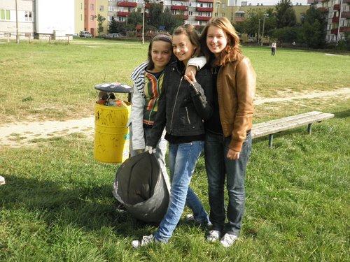 Fotografie z artykułu: Sprzątanie Świata 2011