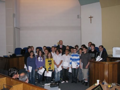 Fotografie z artykułu: Uczniowie naszej szkoły wśród DELTAklubowiczów
