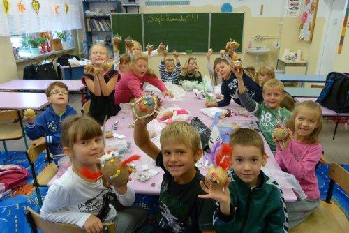 Fotografie z artykułu: 'Święto Ziemniaka' - zabawa i integracja w naszej szkole!