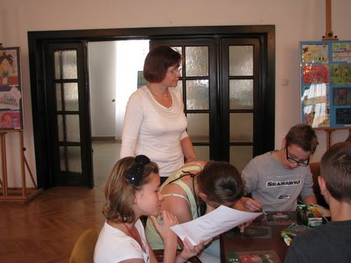 Fotografie z artykułu: Lekcja plastyki w Domu Darmstadt