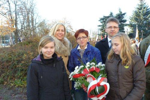 Fotografie z artykułu: Nasz udział w miejskich obchodach Narodowego Święta Niepodległości