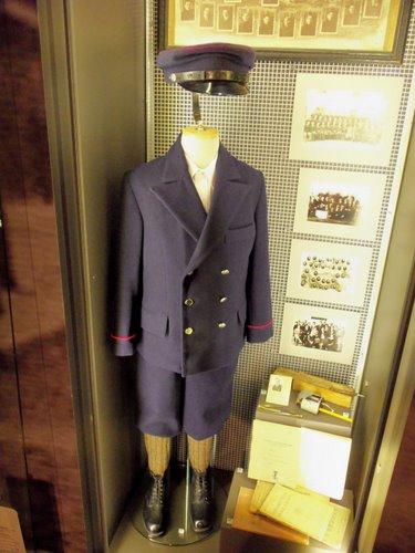 Fotografie z artykułu: Wspomnienie niebieskiego mundurka