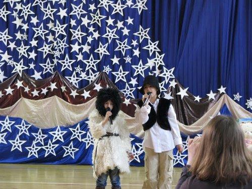 Fotografie z artykułu: Podwójne zwycięstwo w VIII Rejonowym Konkursie Duetów 'Cicha noc'