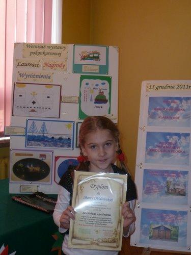 Fotografie z artykułu: Marta wyróżniona w projekcie 'Moje miasto Płock - historia i teraźniejszość'