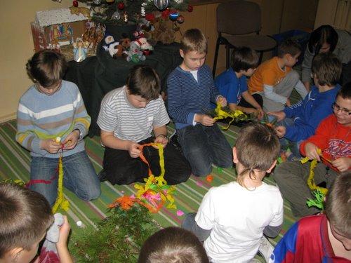 Fotografie z artykułu: Wigilia w szkolnej świetlicy