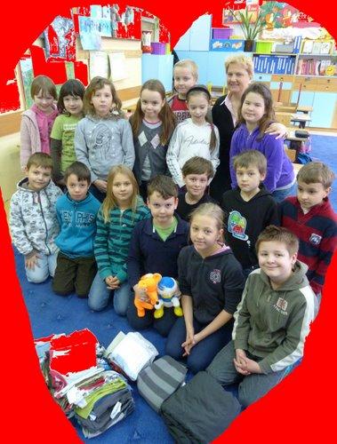 Fotografie z artykułu: Walentynki w sercach uczniów