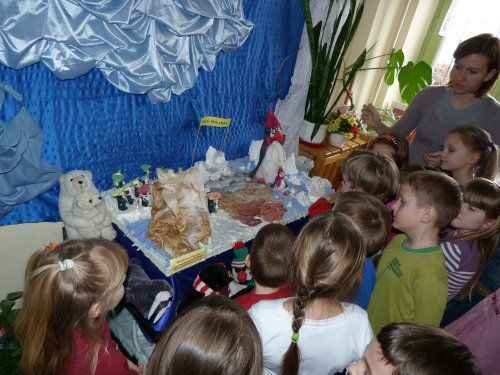 Fotografie z artykułu: Misie polarne w naszej szkole!
