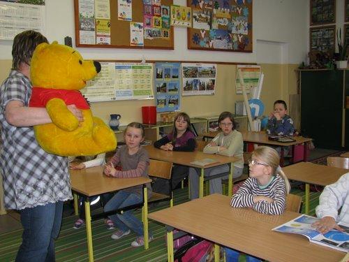 Fotografie z artykułu: II a - najlepiej czytającą klasą!