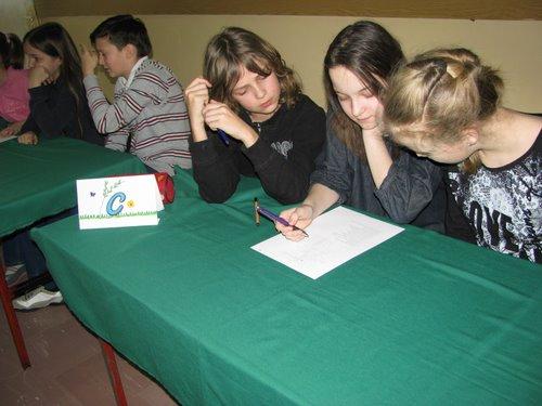 Fotografie z artykułu: Pierwszy Dzień Wiosny  -  Dniem Odkrywców Talentów w SP 23