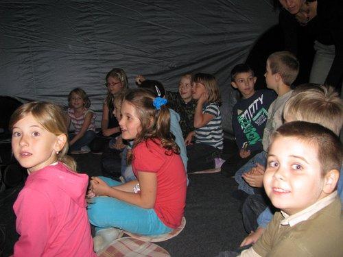 Fotografie z artykułu: Planetarium w naszej szkole!