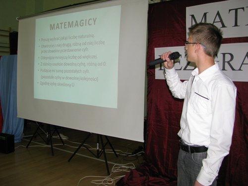 Fotografie z artykułu: Matematyka Bez Granic 2012
