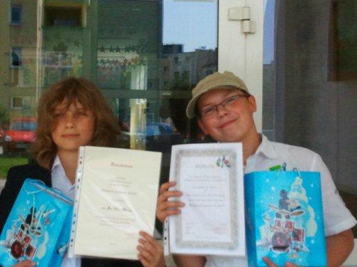 Fotografie z artykułu: Kolejne sukcesy młodych matematyków
