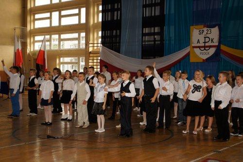 Fotografie z artykułu: Uroczysta inauguracja roku szkolnego 2012/13