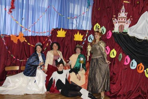 Fotografie z artykułu: Bal karnawałowy na zamku...
