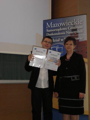 Fotografie z artykułu: Laureat w Warszawie!