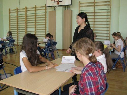 Fotografie z artykułu: Piknik Europejski - klasówka z miast partnerskich
