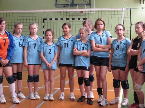 Fotografie z artykułu: Zakończenie Zdrowej Ligi w piłkę siatkową dziewcząt
