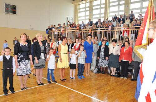 Fotografie z artykułu: Inauguracja roku szkolnego 2013/14
