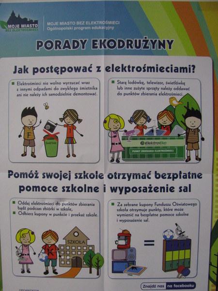 Fotografie z artykułu: 'Moje miasto bez elektrośmieci'