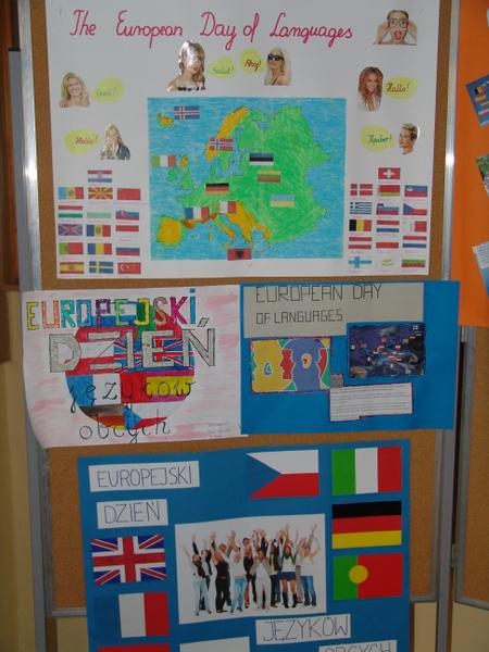 Fotografie z artykułu: Europejski Dzień Języków Obcych