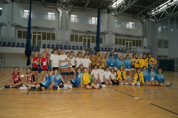 Fotografie z artykułu: Ogólnopolski Turniej Trójek Siatkarskich