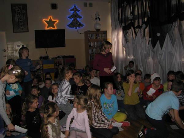 Fotografie z artykułu: Wigilia w szkolnej świetlicy.