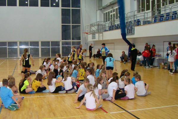 Fotografie z artykułu: Mini  Liga  Volley Płock siatkówki
