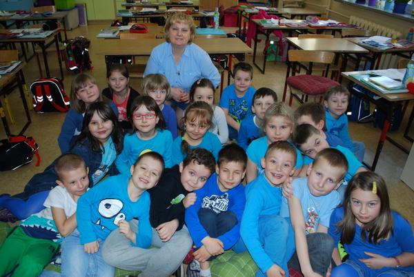 Fotografie z artykułu: 2 kwietnia - na niebiesko dla autyzmu