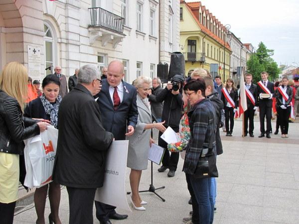 Fotografie z artykułu: Iga i Filip wiedzą bardzo dużo o polskim parlamentaryzmie.