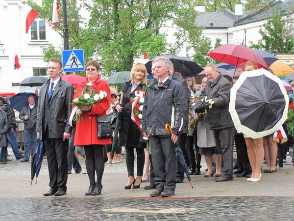 Fotografie z artykułu: Miejskie obchody Święta Narodowego 3 Maja