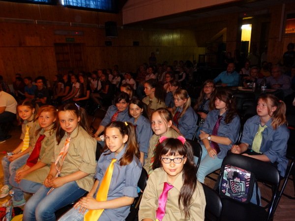Fotografie z artykułu: II miejsce dla zespołu 'Viva la musica'.