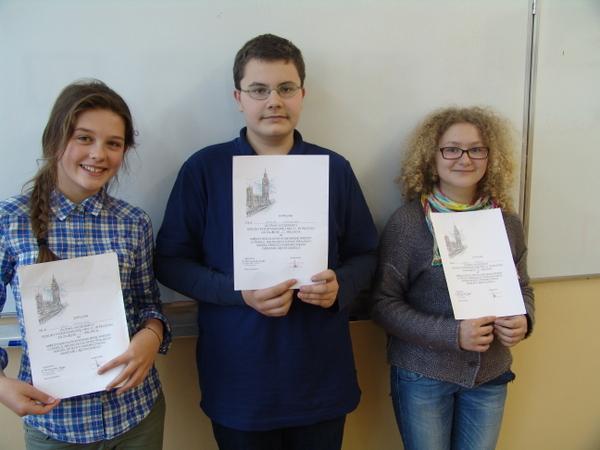 Fotografie z artykułu: IV Międzyszkolny Konkurs Wiedzy o Anglii, Niemczech oraz Krajach Angielskiego i Niemieckiego Obszaru Językowego dla Szkół Podstawowych