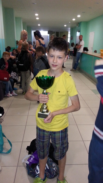 Fotografie z artykułu:  Mistrzostwa klas III Szkół Podstawowych w Pływaniu.